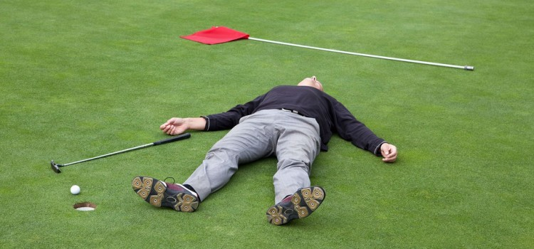 The Five Stages of Coping With Mediocre Golf